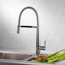 Contemporary single handle double tap for kitchen