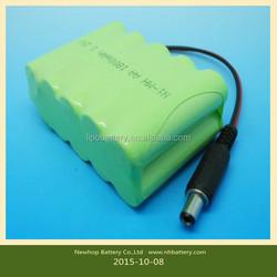 12v 1800mAh battery NiMH /nimh rechargeable battery