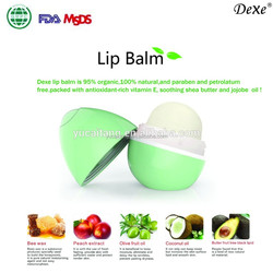 Perfect lip care products dexe roller ball lip balm natural plant extract