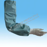 Favorites Compare PE disposable sleeve cover (blue)/oversleeves with CE/ISO13485 certificate