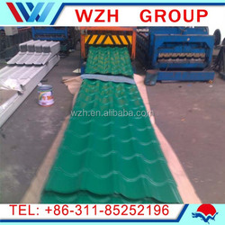 24 gauge corrugated steel sheets ppgi ppgl / prepainted corrugated plate / roofing coils for china metal storage sheds