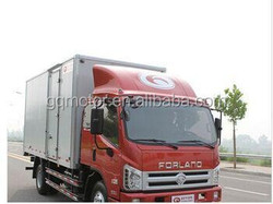Foton Forland Below -18 Centigrade Foton Refrigerated truck for all countries in Africa, Asia and South America