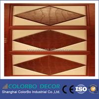 Leather-surface Fiberglass Core Material Fabric Decorative Acoustic Panel Boards