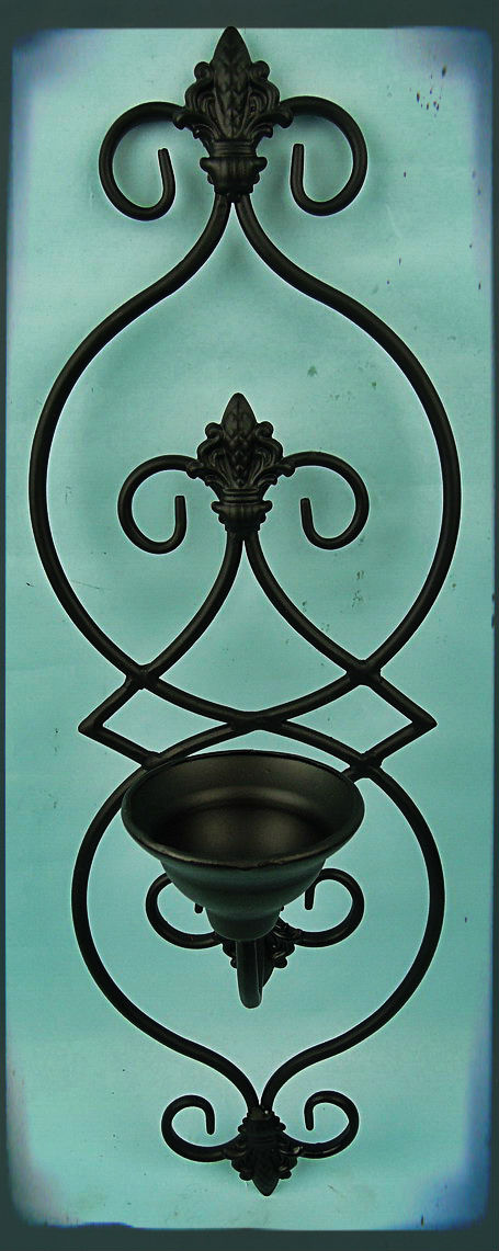 Handmade Home Decorative Wrought Iron Candle Holder Hanging Wire ...