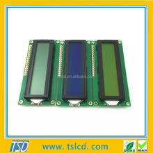 Character LCD Modules Display 1602 promotion with Y-G/Blue backlight