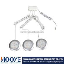 Round Set of LED Cabinet Puck Light