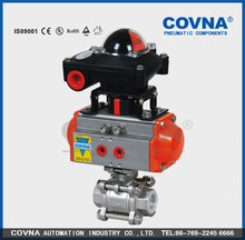 prevent explosion pneumatic valve with positioner