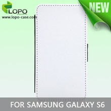 Newest blank Sublimation phone case for Samsung galaxy S6