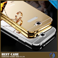 new ultra thin aluminum metal case for samsung galaxy note 2 n7100 mirror back cover