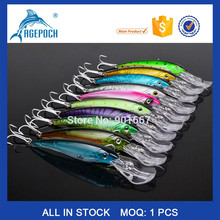 High Quality Fishing Bait Exported to Usa Market 3D Fishing Tackle 10 color 31g/17cm Soft Fishing Lure
