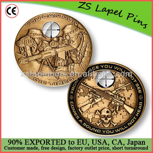 regalos de la moneda / moneda de la moneda / metal desafío personalizados