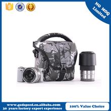 2015 600D Polyester DSLR Camera shoulder bag Black tablet computer bag