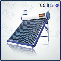 Perfect compact stainless steel pressurized copper coil pre-heated solar water heating system for home