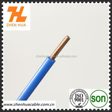 Blue only single core1.5mm,100m/roll .stranded cable PVC sheath