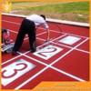 Qingdao CSP playground running track,running track material