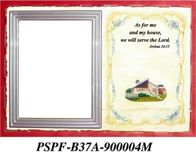 19 x 13 cm vidro religiosa photo frame com polyresin estatueta vers culos da b blia molduras. Black Bedroom Furniture Sets. Home Design Ideas