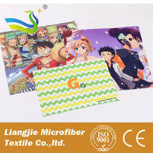China Manufacturer Wholesale Microfiber Sunglass Cleaning Cloth Digital Printing Microfiber Cloth for Eyeglass Cleaning
