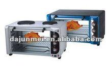 Horno eléctrico con placa caliente horno tostador con placa caliente