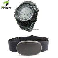 Health Tracker Watch Working with 5.3KHz Heart Rate Monitor Like Garmin