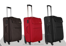 high quality nylon material travel trolley bag