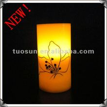 White Wax Flameless LED Candle for home Decoration