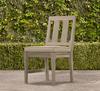 Outdoor Furniture vintage Rustic garden chair (wood treatment)