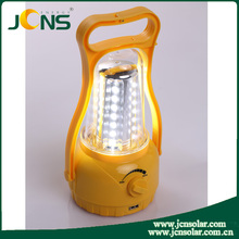 Solar camping lantern with economical and practical