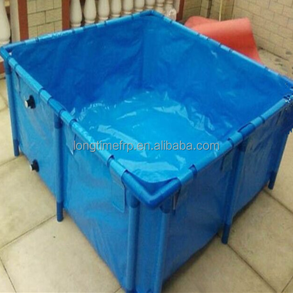 Foldable fish farm tank for sale buy foldable fish tank for Fish farm tanks