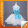 2015 Fashion Baby chiffon satin dress lovely girls party wear dress baby frock dress SPSY-1065