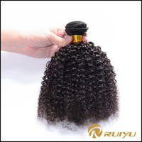 Best quality afro kinky curly brazilian virgin hair weave,virgin brazilian hair wholesale