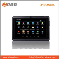 laptop mid tablet pc 7inch wifi 2500mah battery game player music player google system