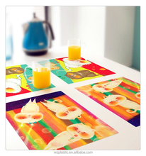 2015 Hot sale Newest pp placemat ,plastic placemat ,Table Placemats
