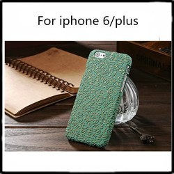 Palace leather skin mobile phone bag for iphone 6 phone case