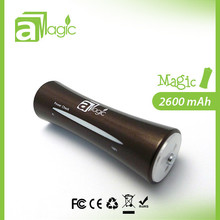 Full Color Wholesale Smart Power Bank 2600mah with LED Torch Function Fit for Iphone Smartphone