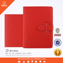 2014 hot sell genuine leather tablet pc cover case for 9.7 inch PAD2 3 4 5 tablet pc