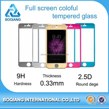 2015 Newest tempered glass for iphone 6 tempered glass with 0.26mm , for tempered glass screen protector iphone 6 with paypal