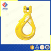 G80 U.S. TYPE DROP FORGED CLEVIS TYPE SELF LOCKING CRANE HOOK