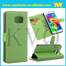 New Arrival Flip Leather Case for Samsung Galaxy S6 from factory, pay with paypal and mail order is ok