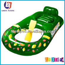 barco inflable del pvc