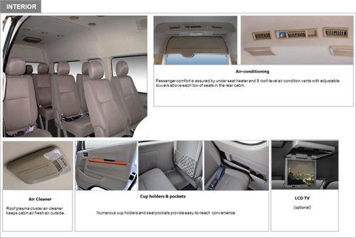 KINGSTAR NEPTUNE L6 14 Seats 2.5L Gasoline Chinese bus model
