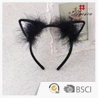 Custom Printing Handwork Western Halloween Hair Feather Headbands For Babies