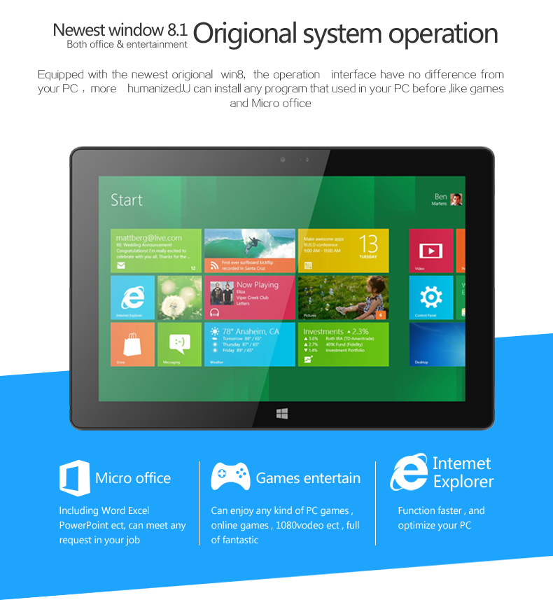 VOYO A9 10.1inch window tablet pc 4GB/64GB voyo a1 mini voyo winpad a1