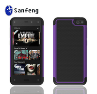 Purple Rugged Impact Mobile Phone Case For Amazon Kindle Fire Phone With Factory Price 12 colors available