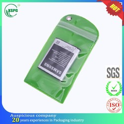 Wholesale clear pvc waterproof bag for cell