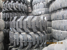 High quality aotai Crownway 15.00-20 solid tyre for Aerial Work Platform