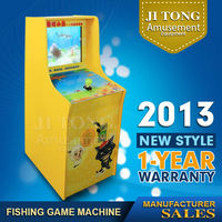 Chinese wooden toys popular children playground slot machine for casino