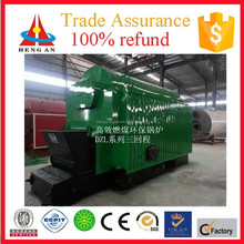 promotional horizontal low pressure single drum chain grate factory price mini small coal fired thermal oil boiler