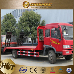 6X4 car carrier slide flatbed recovery truck