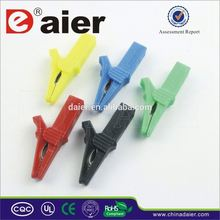 Daier large insulated crocodile clips
