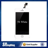genuine Original replacement touch screen For iphone 5 5G 5S touch digitizer screen glass with flex cable + tools